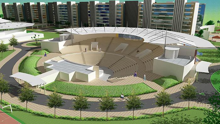 Infosys Outdoor Amphitheater Phase 2 Hyderabad Terra